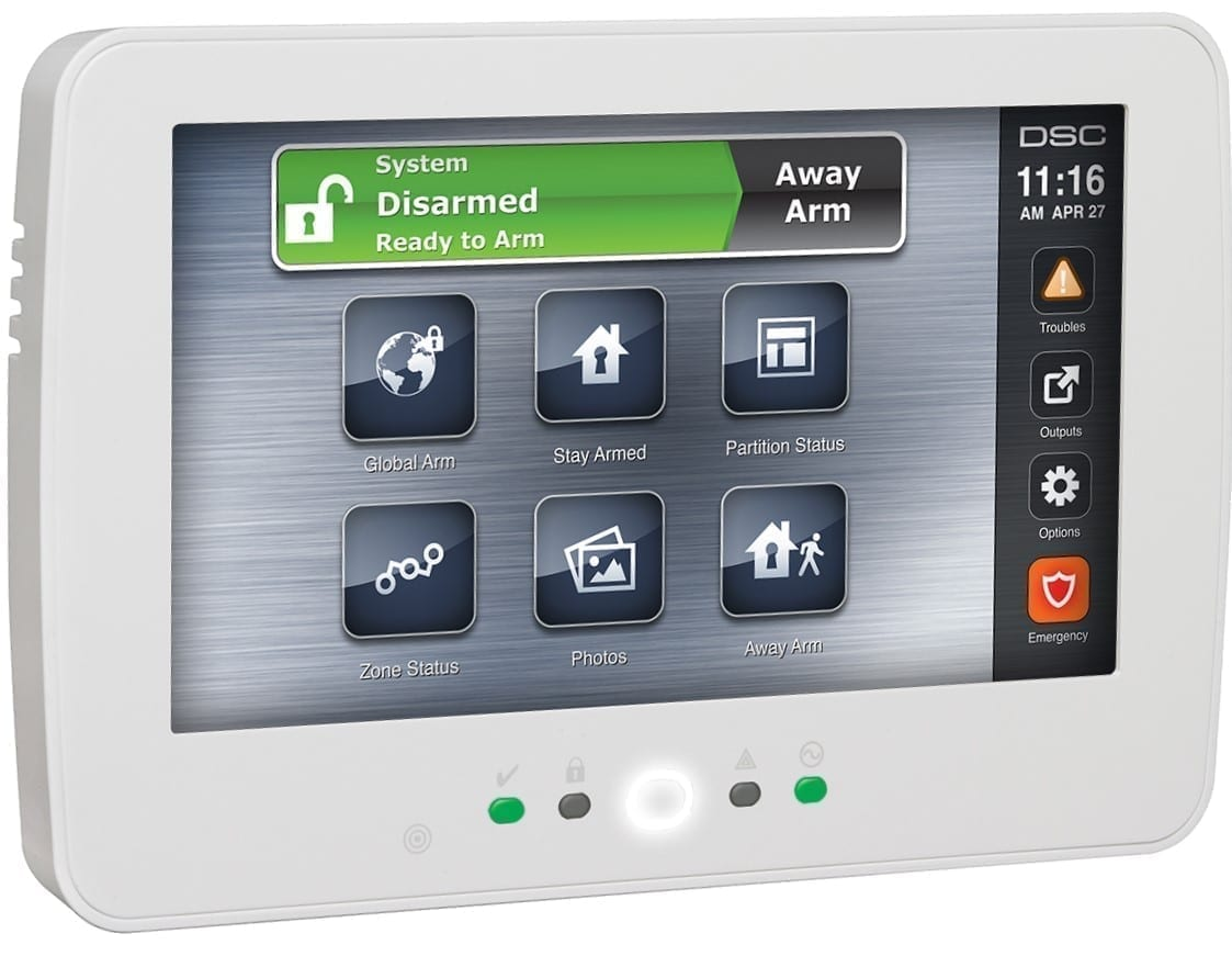 Touch Screen Keypad
